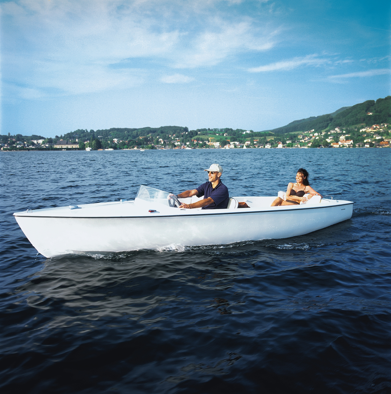 Elektroboot Standard und Portofino